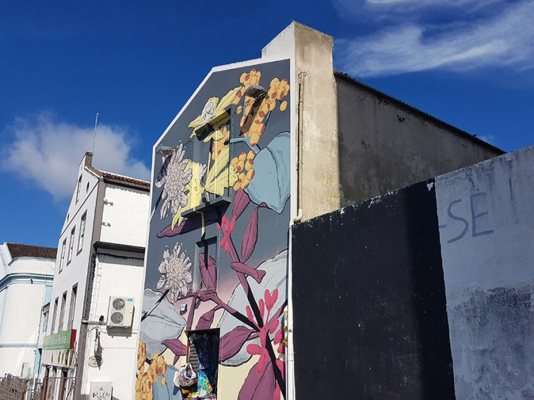 Street art Azoren