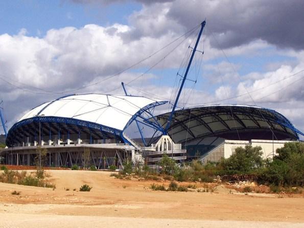Voetbalstadions ek 2004 | Saudades de Portugal