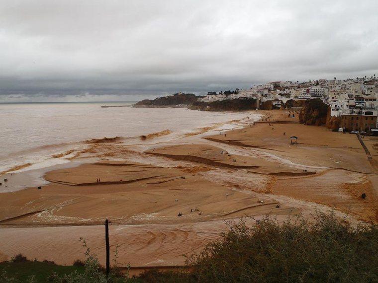 Overstroming Albufeira
