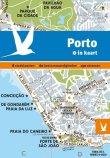 stad in kaart Porto
