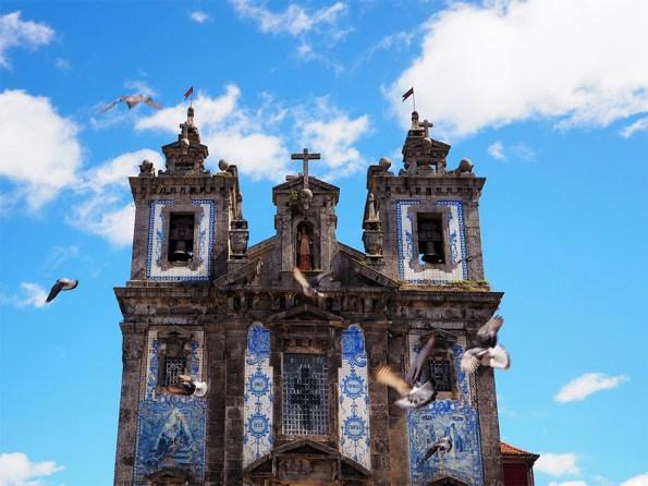 De blauwe tegelkerkjes van Porto | Saudades de Portugal