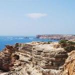 Op de kliffen van de Costa Vicentina