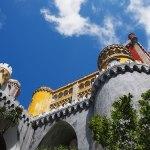 Het Palácio da Pena in het zonnetje