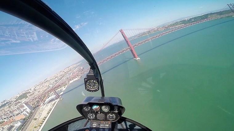 Bucket List: Helikoptervlucht Lissabon   Saudades de Portugal