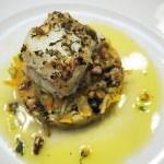 Recept: Bacalhau com Crosta de Amêndoa e Ervas