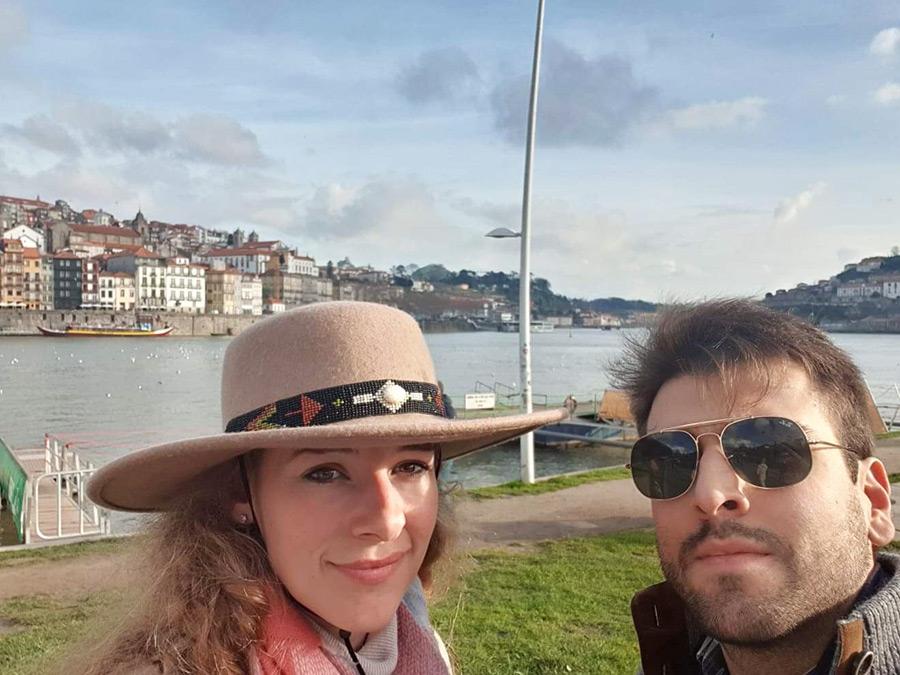 Jearina in Lissabon: Porto