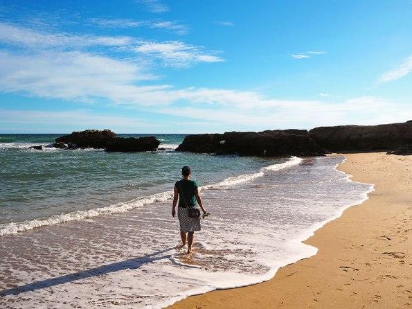Strandwandeling Albufeira