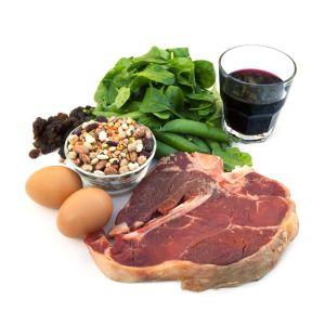 Alimentos (Origem Animal e Vegetal) Ricos em Ferro