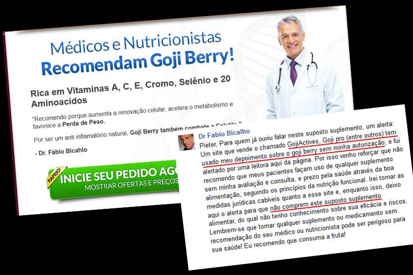 Dr. Fábio Bicalho e o Goji Pro