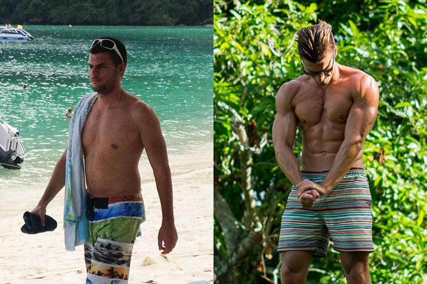 Ganhar Musculo e Seca Barriga – Antes e Depois