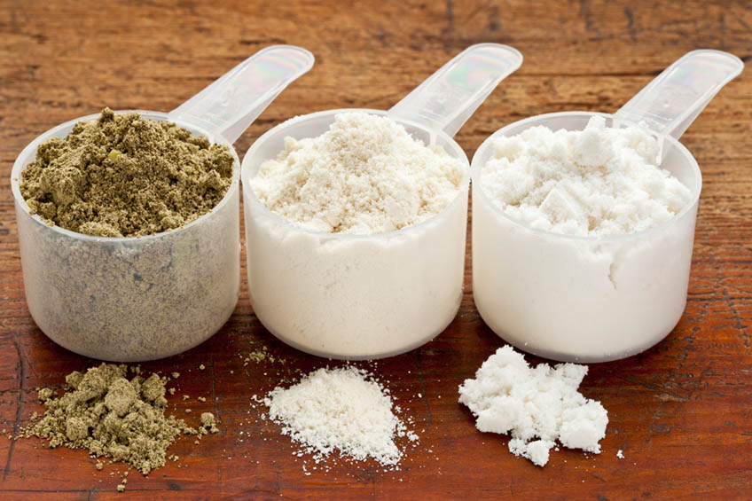 Proteina Whey para Ganhar Massa Muscular