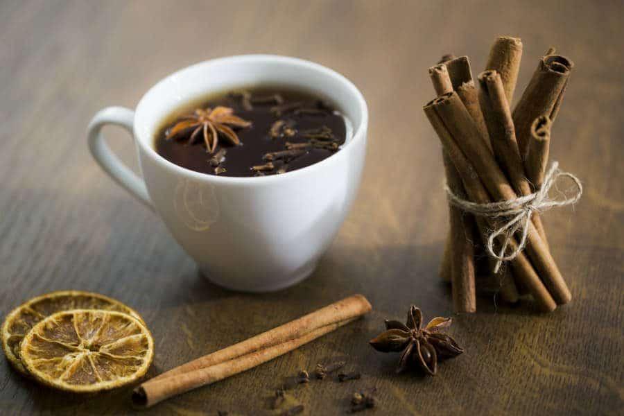 chá de canela benefícios