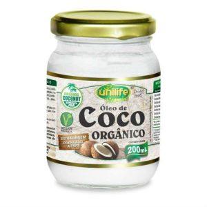 oleo de coco organico unilife