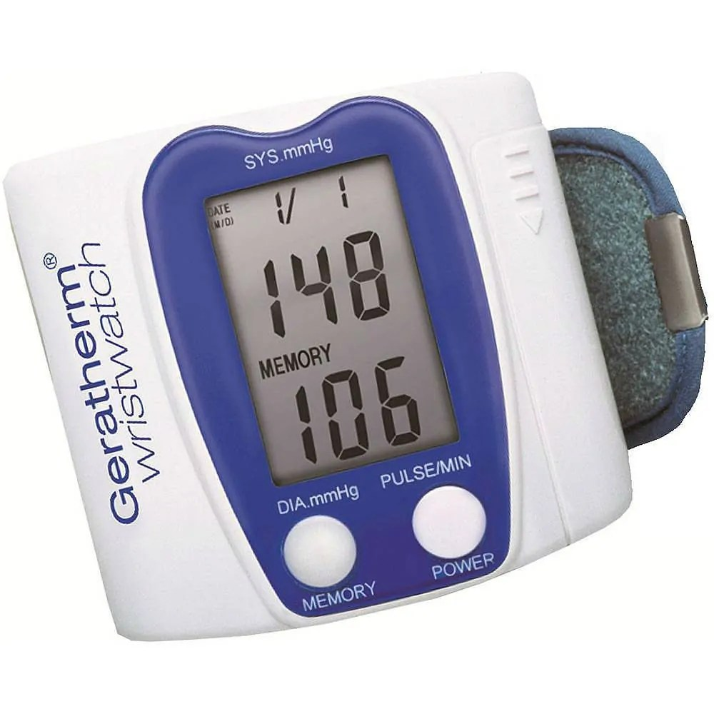 medidor de pressão wristwatch geratherm