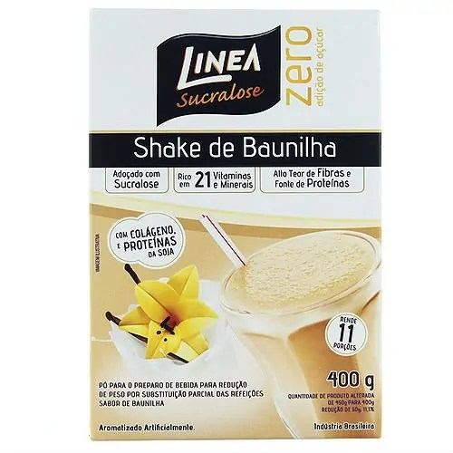 shake linea premium baunilha