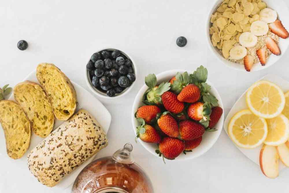 receitas vegetarianas de café da manhã