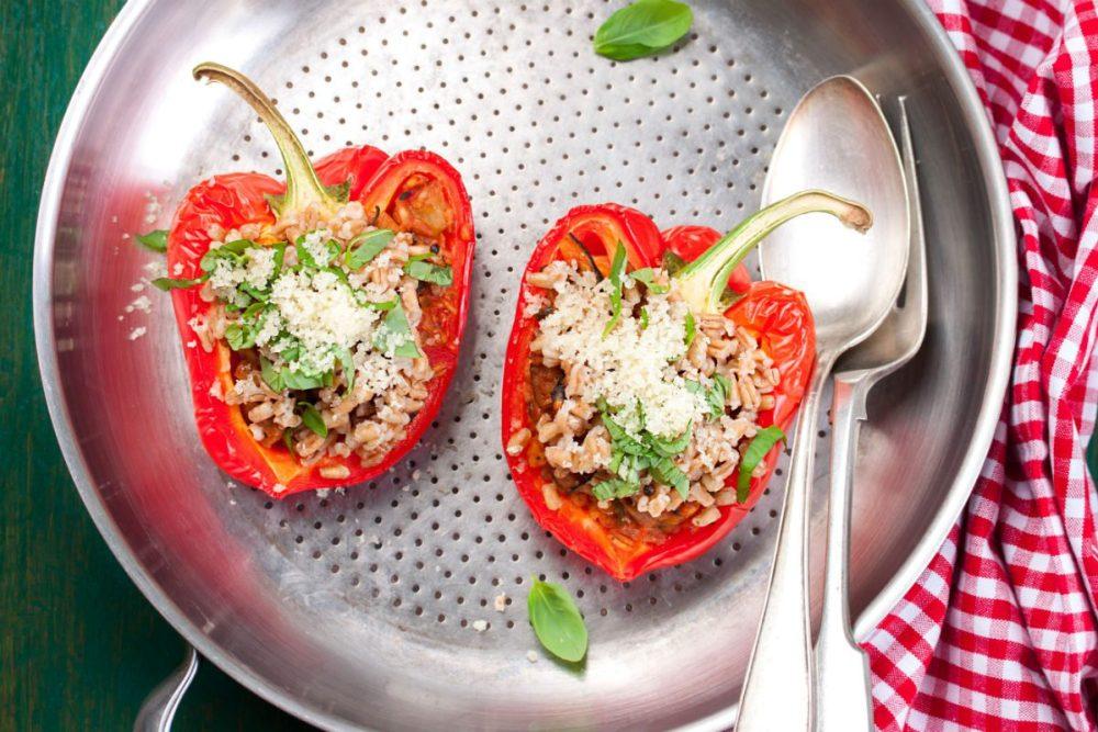 receitas vegetarianas para jantar