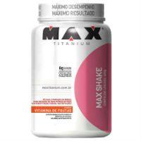 max shake titanium