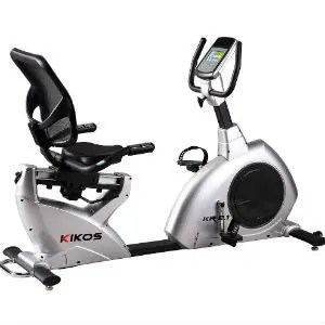 Bicicleta Ergométrica Kikos KR9.1 - Prata e Preto