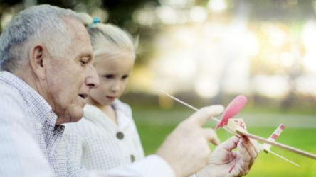 A demência é um problema que não se deve esconder das crianças