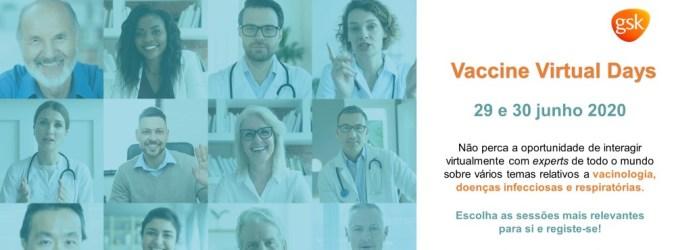 """GSK organiza conferência científica interativa """"VACCINE VIRTUAL DAYS"""""""