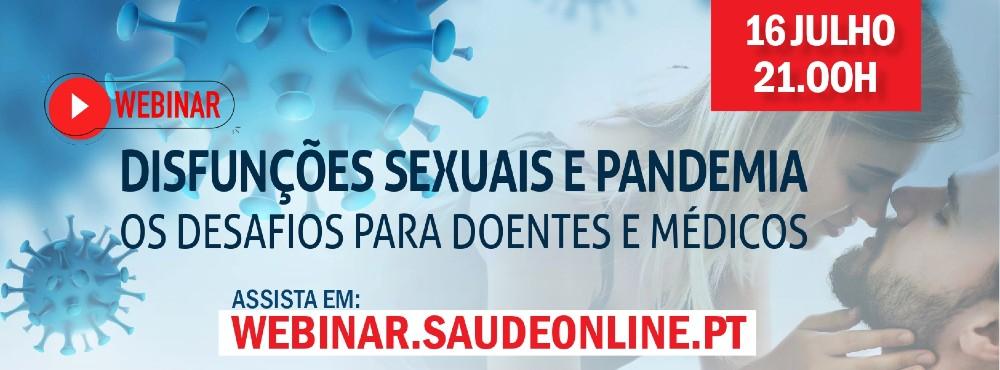 Webinar sobre o impacto da pandemia na sexualidade dos portugueses