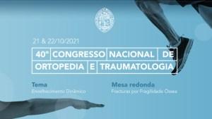 40º Congresso Nacional de Ortopedia e Traumatologia