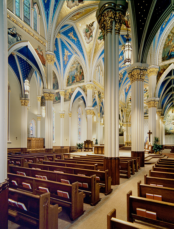 Sacred Heart Chapel Notre Dame University (South Bend, IN)