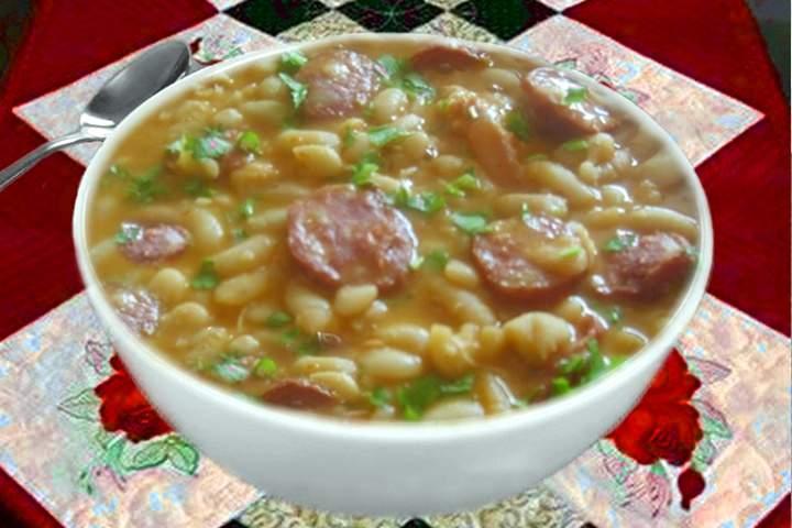 Sopa de Feijão Branco