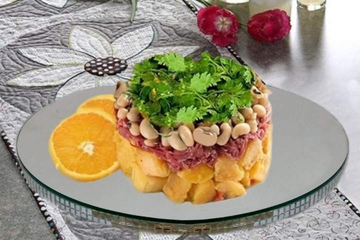 Salada de Bacalhau com Feijão Fradinho
