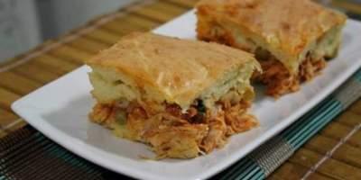 Torta Cremosa de Pão de Forma