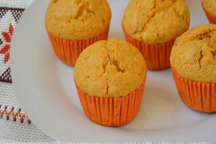 Muffin de Cenoura Salgado