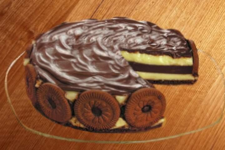 Torta Dueto de Chocolate