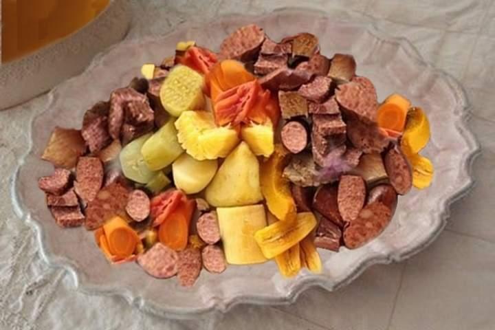 Cozido com Pirão