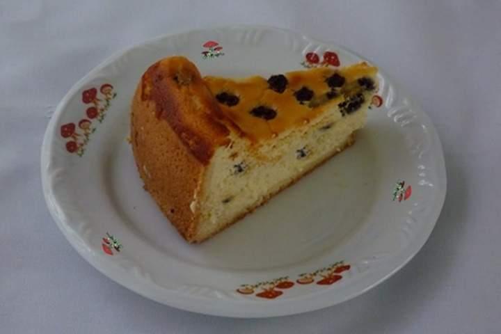 Torta de Ricota com Passas