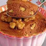Mousse Trufada de Chocolate e Nozes