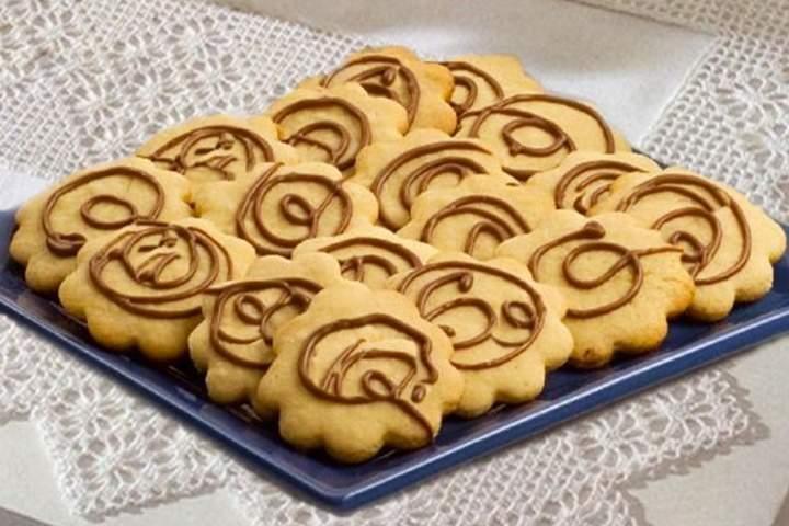 Biscoitos de leite condensado