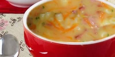 Sopa de Calabresa com Aipo e Cenoura
