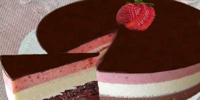 Torta Mousse Napolitana