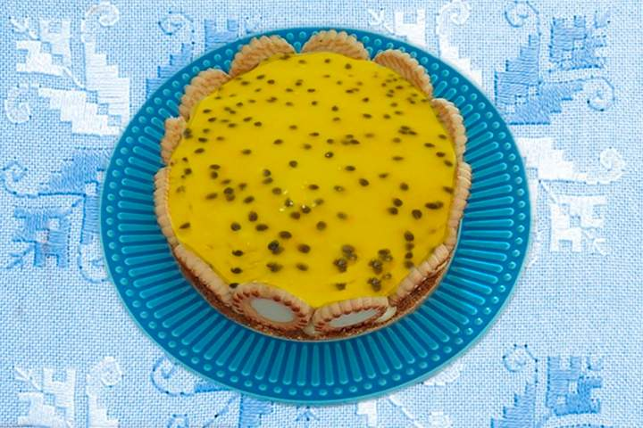 Torta Holandesa de Maracujá