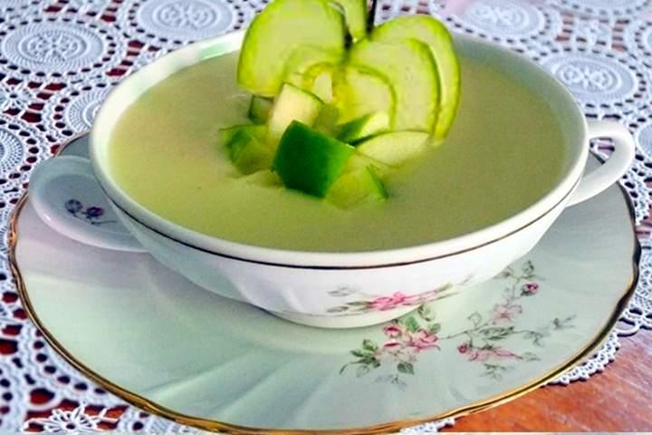 Sopa de Maçã Verde