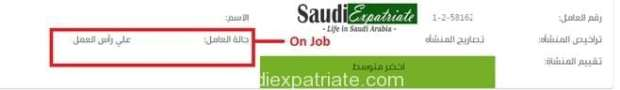 Final Exit Visa Status as On The Job-SaudiExpatriate.com