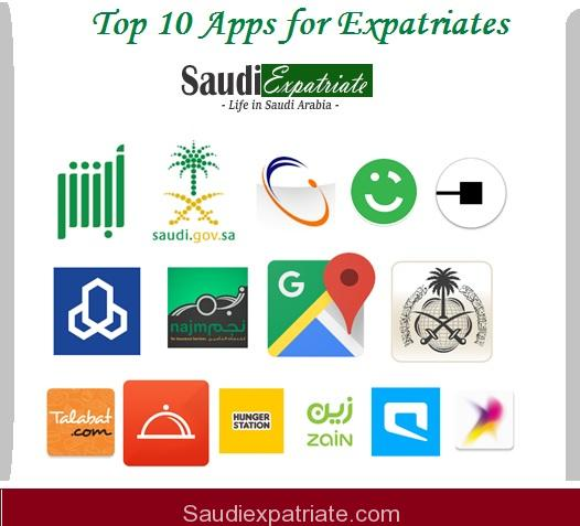 Top 10 Most Needed Apps for Expatriates Living in Saudi Arabia-SaudiExpatriate.com