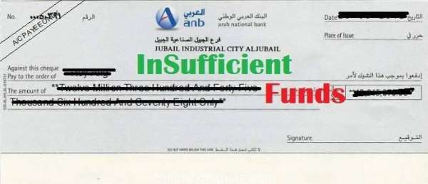 Fines for Cheque Bounces in Kingdom of Saudi Arabia (KSA)-SaudiExpatriate