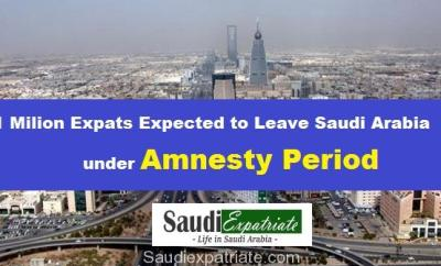 1 Million Expatriates may leave Saudi Arabia under Amnesty Plan-SaudiExpatriate.com