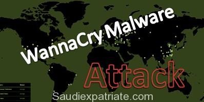 WannaCry Ransomware Attack nearly 80+ Countries-SaudiExpatriate.com
