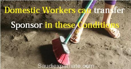 Domestic Workers can transfer Sponsor if No Salary for 3 Months-SaudiExpatriate.com