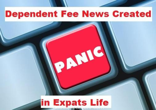 Expats got Panic due to Dependent Fee Issues-SaudiExpatriate.com