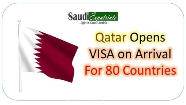 Qatar Opens Visa-on Arrival for 80 Countries-Saudiexpatriate.com