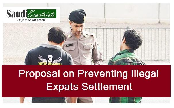 Proposal on preventing Illegal Expats Settlement on Conditions-SaudiExpatriate.com